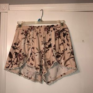Rue 21 light pink shorts